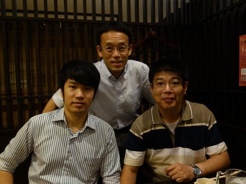 出陣式この3人に加え更にもう一人加わりました.JPG